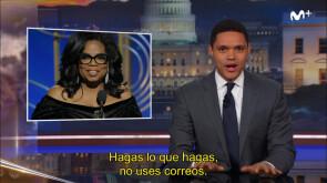 The Daily Show - Trevor Noah apoya a Oprah en su carrera a la presidencia