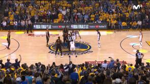 Game 1: Warriors 124-114 Cavs