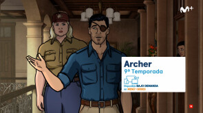 Archer T9, estreno en Movistar Series Xtra