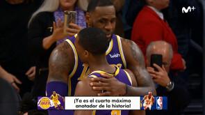 LeBron James supera a Jordan
