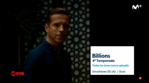 Billions T4, estreno en Movistar Series