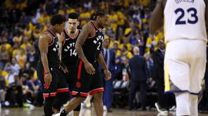 Game 3: Warriors 109-123 Raptors  (1-2)