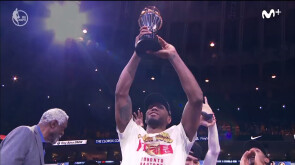 Kawhi Leonard, MVP de las Finales