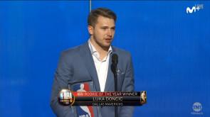 Luka Doncic, rookie del año