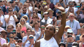 Serena Williams, a la final