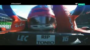 Leclerc, ídolo en Monza