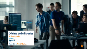 Oficina de infiltrados - Estreno en Movistar Seriesmanía