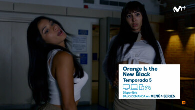 'Orange Is the New Black' T5 - #CompletaEnVOD