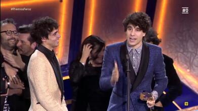 Premios Feroz: El discurso de Javier Calvo | #0