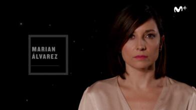En primer plano: Marian Álvarez