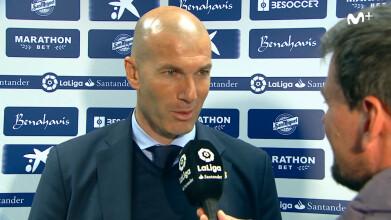 Del enfado a la sonrisa de Zidane