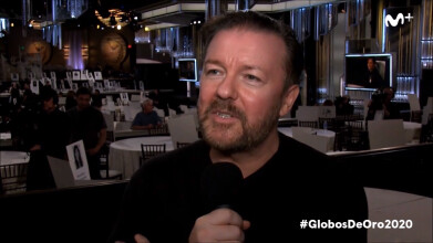 Globos de Oro 2020: Ricky Gervais