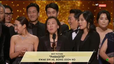 Oscars 2020 - 'Parasitos' Mejor película