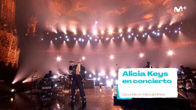 MOVISTAR FEST:  ALICIA KEYS EN CONCIERTO